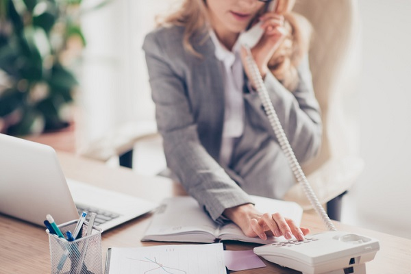Understanding good telephone etiquette is important for administrators