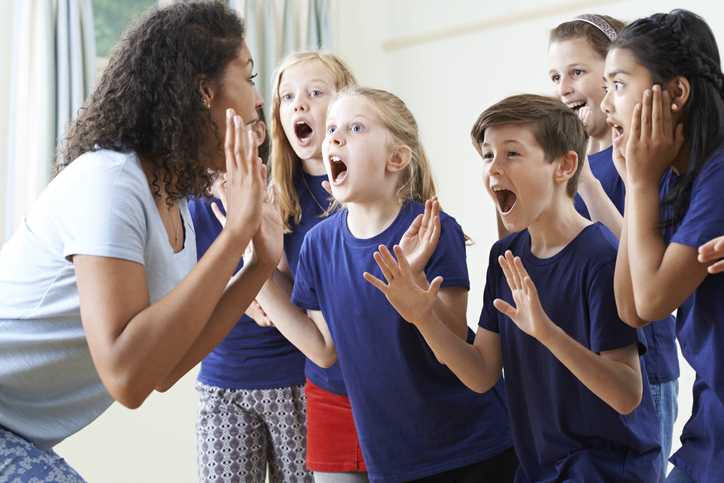 Be enthusiastic and communicate well with children in your workshop