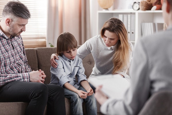 Since you will help families who are dealing with stress, you should keep your body language neutral