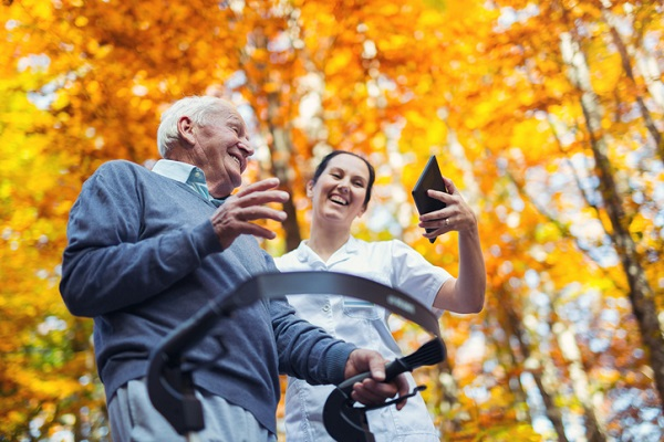 Building a great relationship with a senior client can improve their overall sense of happiness