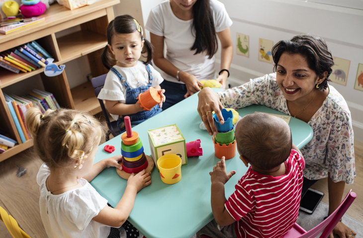 Group therapy can help children develop their social confidence